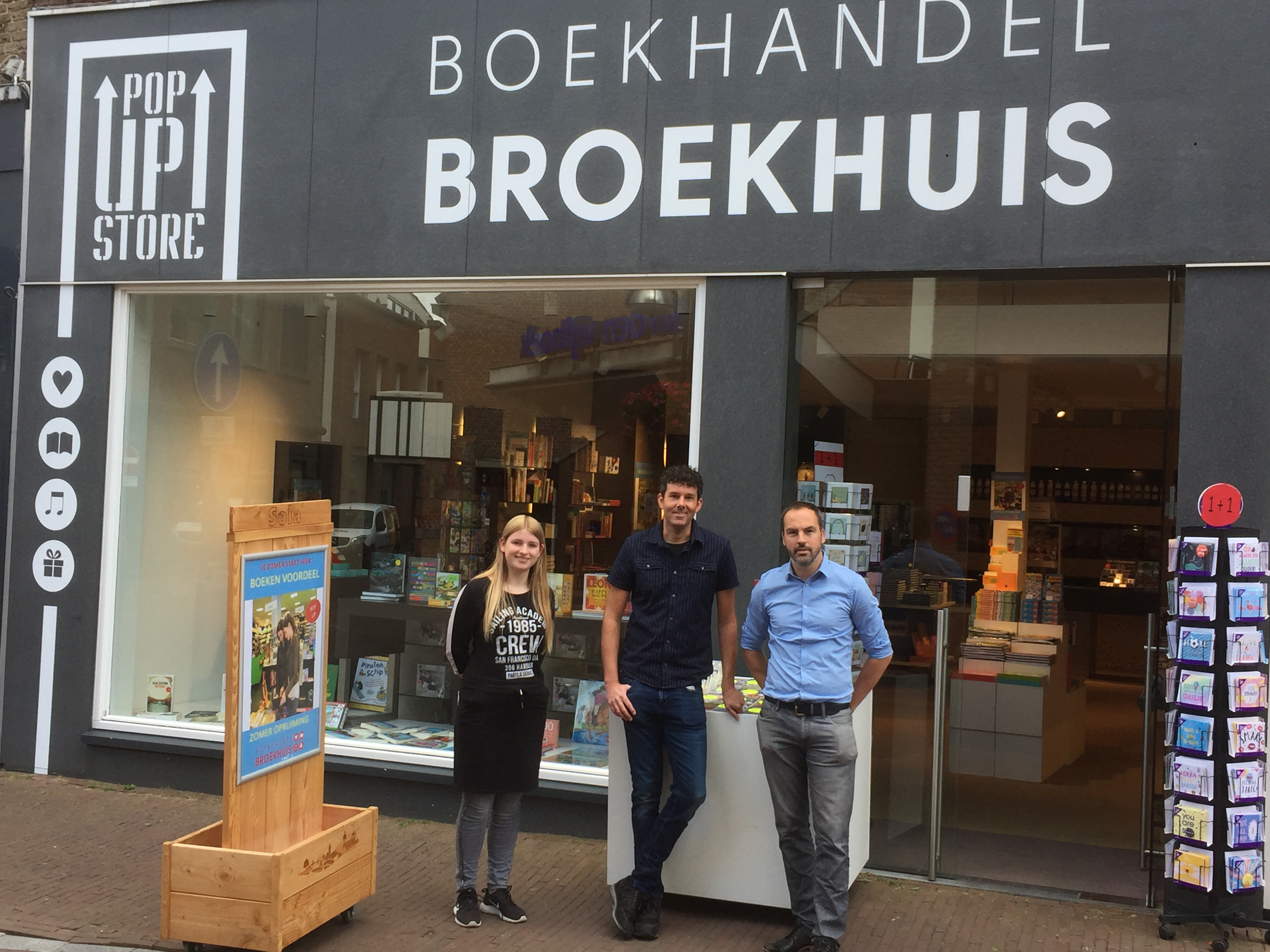 POP UP BROEKHUIS IN OLDENZAAL